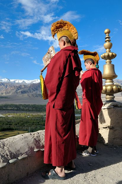 Thiksey Gompa, Tibet