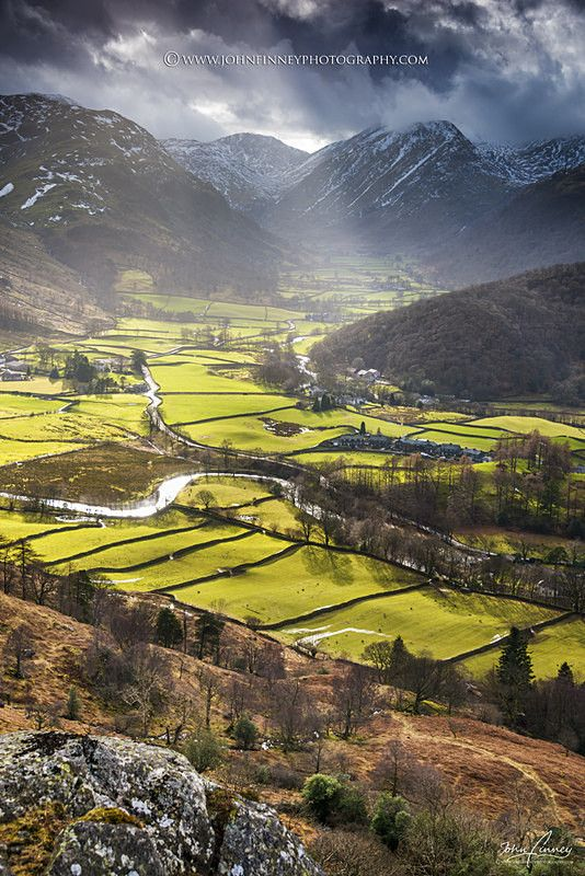 Borrowdale, Lake District - Lake District & Cumbria, UK so stunningly beautiful