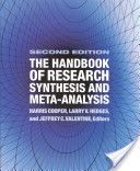 The handbook of research synthesis and meta-analysis / edited by Harris Cooper, Larry V. Hedges, and Jeffrey C. Valentine