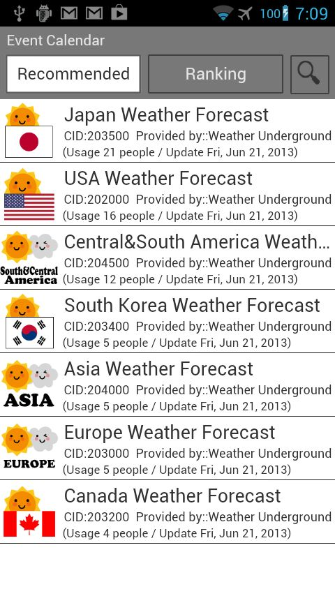 Introducing the Jorte #EventCalendar the Weather Calendar is the - event calendar