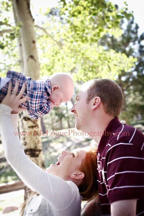family photography portrait outside Colorado Springs, Black Forrest   Ule Logue Photography