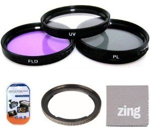 67mm Filter Kit For Canon SX30IS SX30 IS SX40 HS SX40HS SX50 HS SX50HS Digital Camera Includes Filter Adapter + 67MM 3PC Filter Kit (UV-CPL-FLD) + More!! by Big Mike's. $19.95. Protect your camera lens from ultraviolet light while boosting your artistic possibilities with this Essential filter kit. The kit--which includes an ultraviolet filter, circular polarizer, and warming filter--is an ideal accessory for cameras with 52mm filter diameters. The ultraviolet f...
