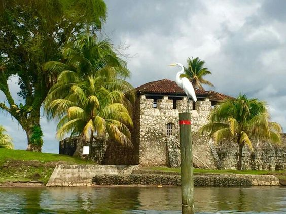 Castillo de San Felipe #Guatemala Puerto Barrios