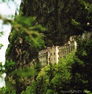 sümela manastırı-virgin mary monastry