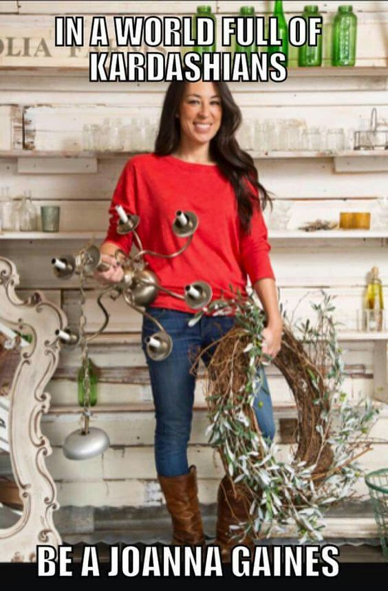 Love this she is so cute and classy Joanna Gaines: