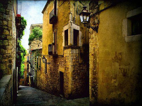 Streets of Girona, Spain