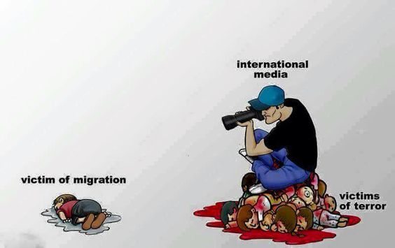 How horribly true  Media are puppets