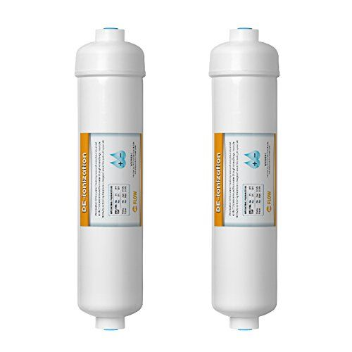 Express Water Deionization Water Filter Replacement 2 Pack Di Mixed Bed Purifier 10 Inch Under Sink And Re Reverse Osmosis Reverse Osmosis System Filters