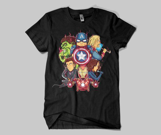 The Avengers Illus tshirt