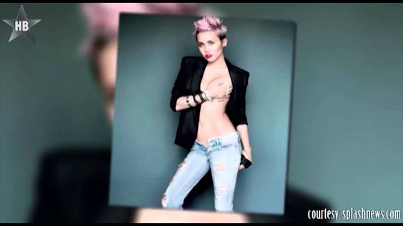Miley Cyrus Goes Nude In Front Of Her Hair Stylish