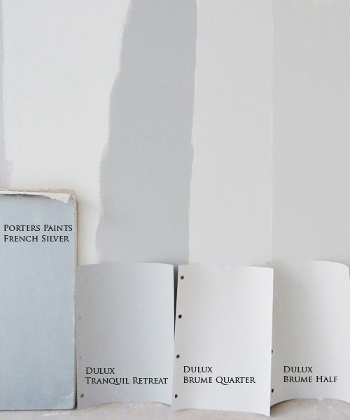 Great minds think alike - I chose Dulux Tranquil Retreat for my walls and then stumbled upon this old post by Brisbane designer 'Ish & Chi'.