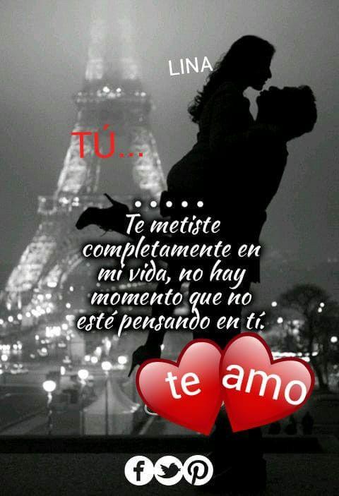 Tú N Mi Vida H Frases De Amor Amor Fraces Y Amor