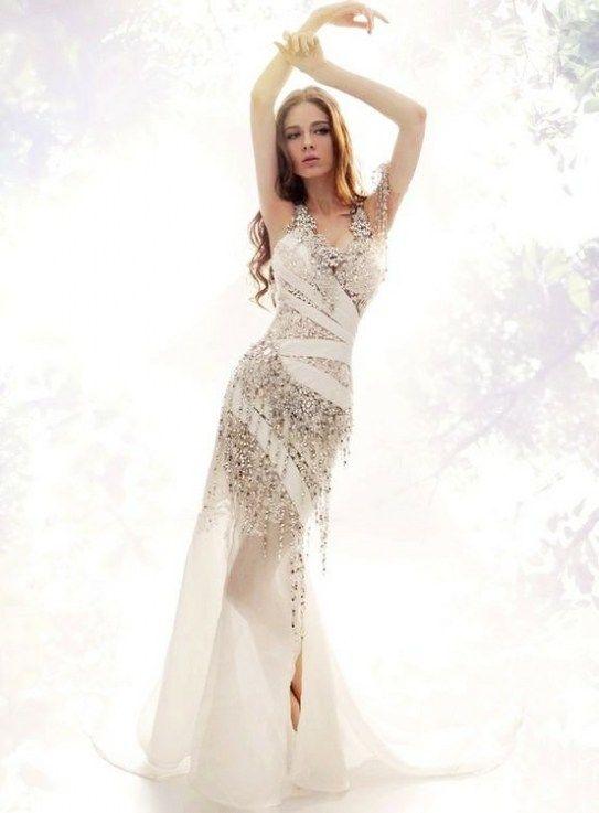Wedding dresses, a love of life of a women.
