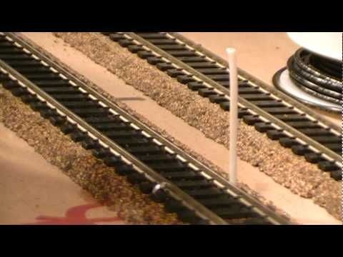 How To Solder Track Feeder Wires Ho Scale Model Railroad Youtube Electrictrainsets Model Train Sets Model Trains Model Train Scenery
