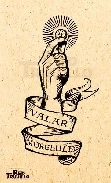 Valar morghulis tattoo by redtrujillo.deviantart.com on @deviantART