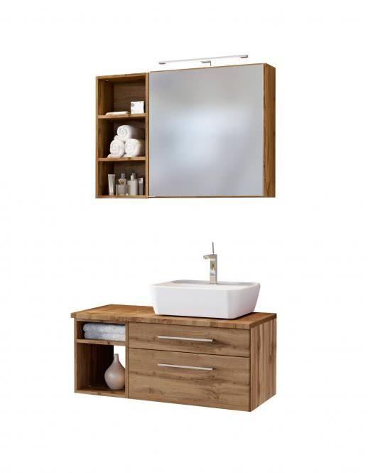 Hangend Waschbeckenunterbau Badezimmermobel Online Bestellen Badmobel Braun Hochglanz Bad Hangeschrank W Waschtisch Unterschrank