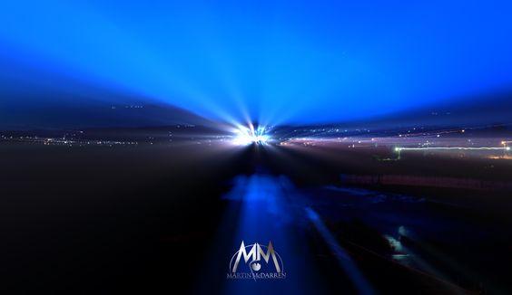 νυχτερινή φωτογραφία τοπίου