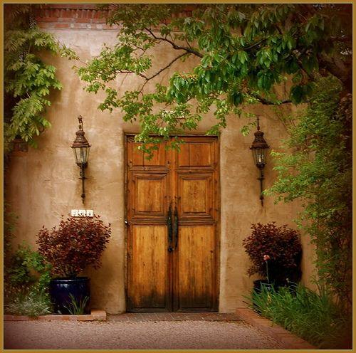 Sante Fe Door Doors And Hardwear Pinterest Fes
