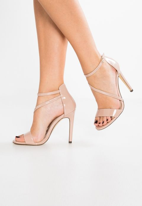 High heeled sandals light brown | Sandals, Heels, High heels