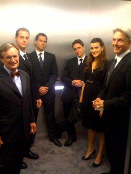 Tým ve výtahu