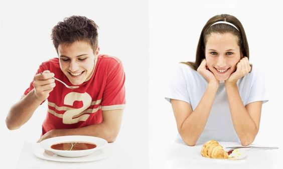 Dieta para adolescentes