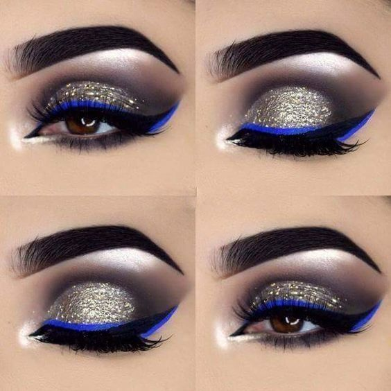 Eye Makeup For Over 50 Hooded Eyes Eye Makeup For Black Dress Makeup For Older Hooded Eyes Natural Makeup Look For B Blue Makeup Eye Make Up Black Dress Makeup
