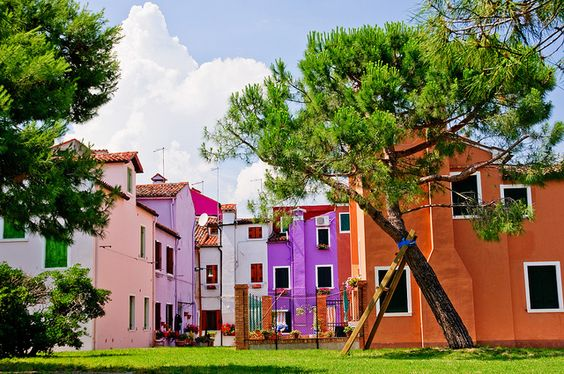 Colors of Burano by davidnc82, via Flickr