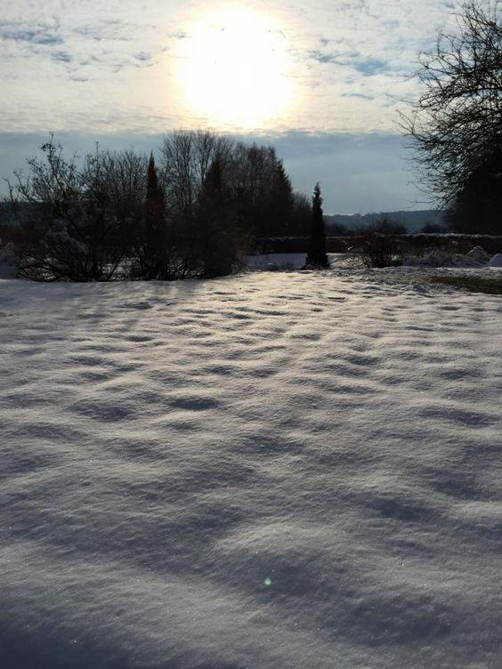 Garten der Sinne im Winter