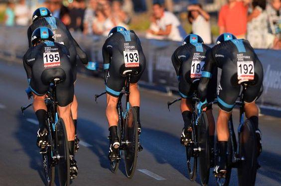 Vuelta a España 2014 - Stage 1: Jerez de la Frontera (TTT) 12.6km - Team Sky in the Vuelta TTT