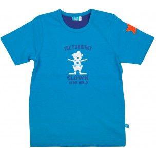 Shirt met korte mouwen en een clown, circus-thema van lief! lifestyle | Shirt with short sleeves and a clown, circus theme by lief! lifestyle | zomer 2014