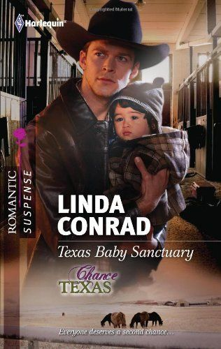 Texas Baby Sanctuary (Harlequin Romantic Suspense) by Linda Conrad, http://www.amazon.com/dp/0373277725/ref=cm_sw_r_pi_dp_QrI2pb186HQ1C