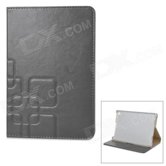 Stylish Flip Open PU Case w/ Stand / Auto-Sleep for 7.9'' Mi Pad - Light Grey Price: $9.49