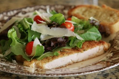 Recipe For Chicken Milanese At California Pizza Kitchen