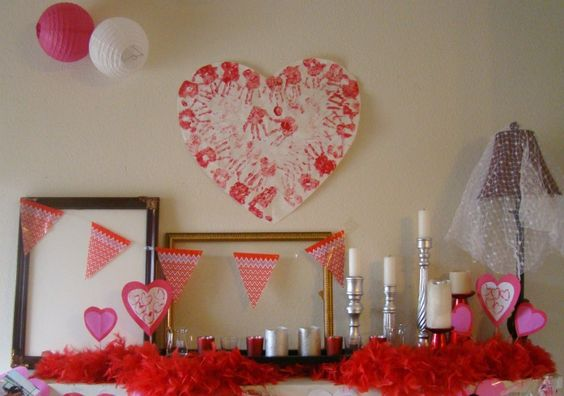 My Valentines Mantle: