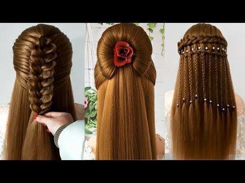 Youtube Peinados Peinados Faciles Y Rapidos Peinado Facil