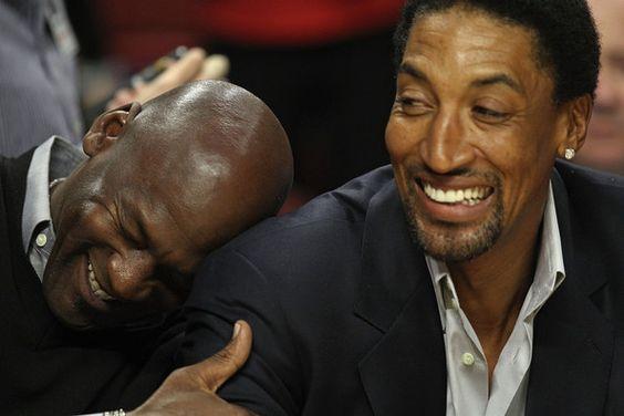 Michael Jordan/Scottie Pippen
