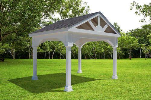 Premium Vinyl Pavilion Gabled Roof Pergola Designs Modern Pergola Pergola Kits