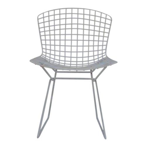 Set Of Four Original Wire Chairs By Harry Bertoia For Knoll Side Chairs Furniture Furniture Design