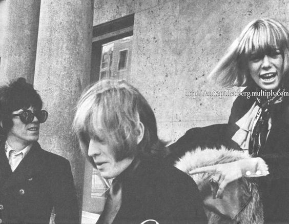 Keef, Brian, and Anita in 1966