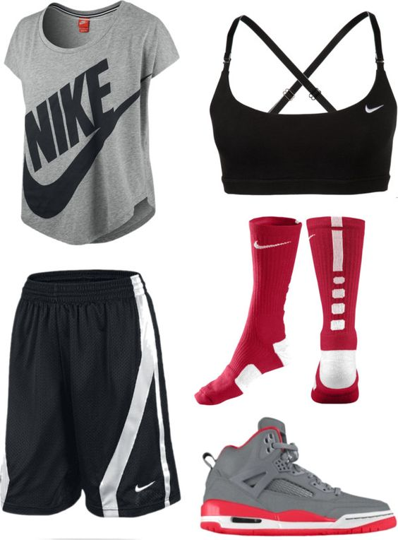 Basketball and Polyvore on Pinterest