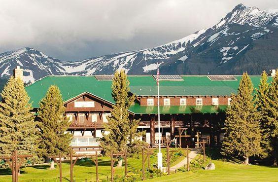 Glacier Park Lodge in Glacier National Park Montana