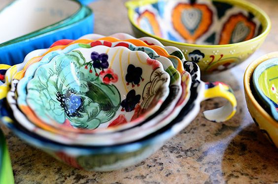 Pretty Measuring Cups And Spoons Gardens Beautiful And