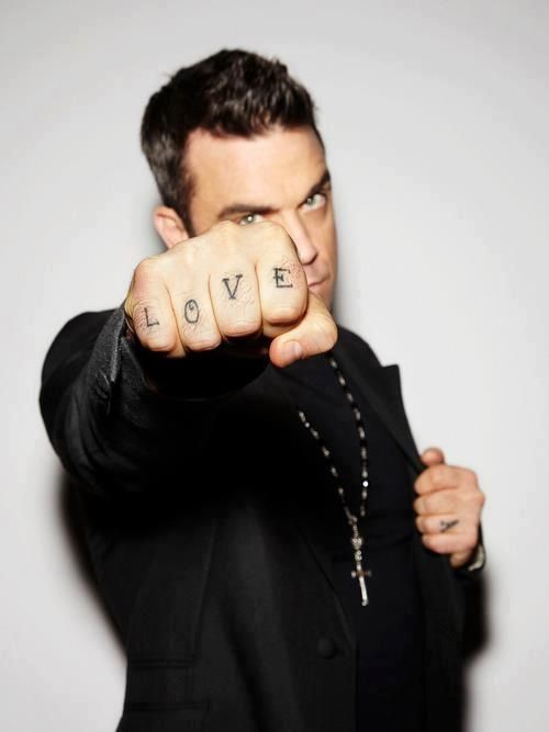 Robbie Williams. Love.