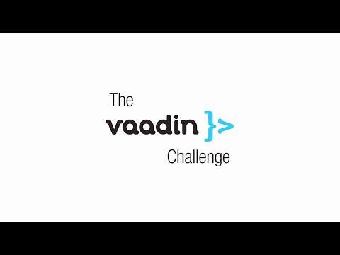 Challenge - vaadin.com