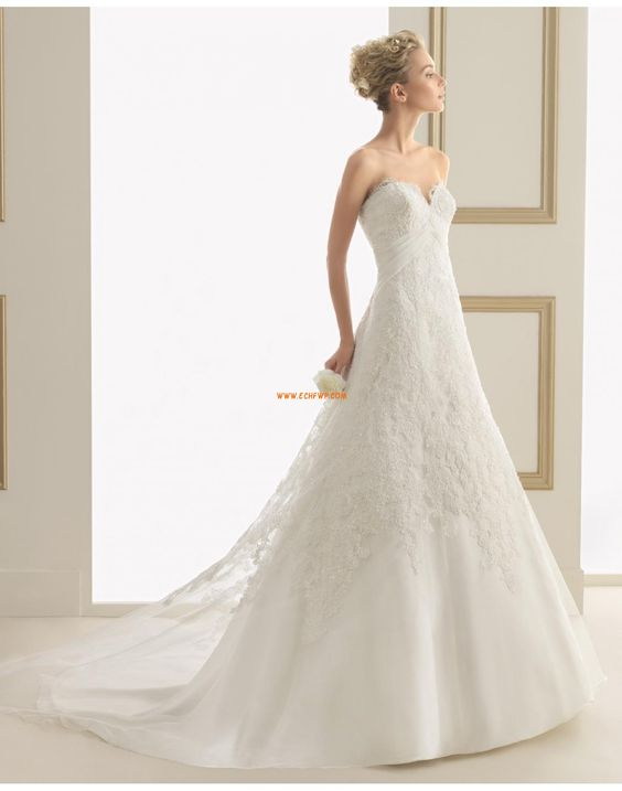 Timeglass Blonde Elegant & Luksuriøs Vintage brudekjoler