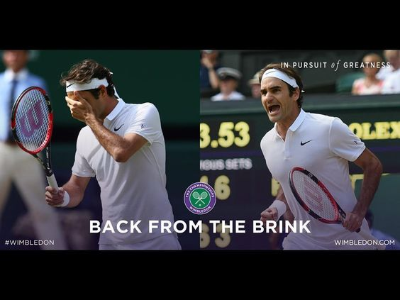 Great comeback from the greatest #RogerFederer #Wimbledon