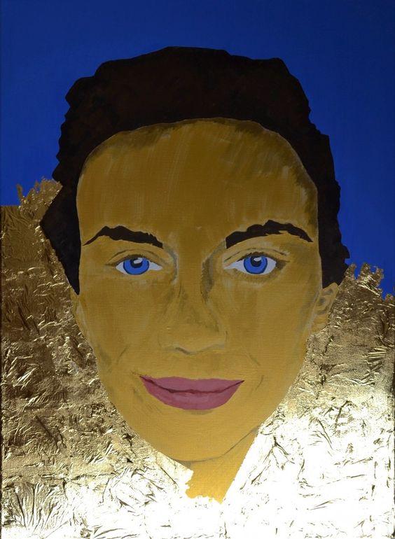 Debut Contemporary | Portrait of Maria Z Behnam Bakhtiar by Sassan Behnam Bakhtiar