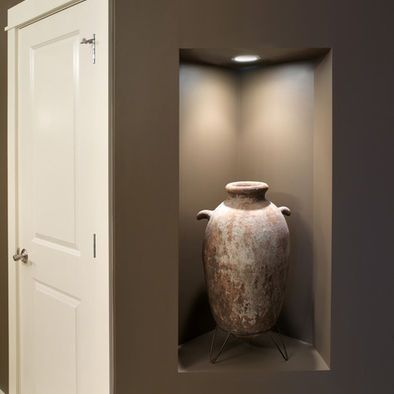 Wall niches vase and entryway on pinterest - Wall niches ...