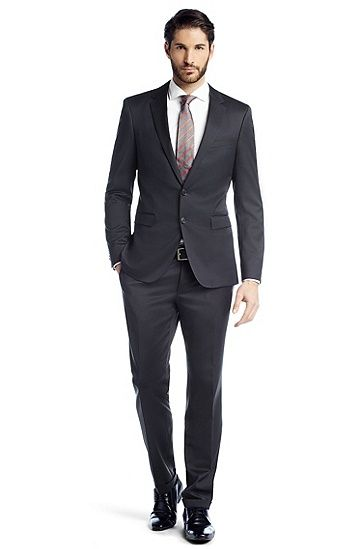 Extra slim fit suit 'Ryan3/Win2', Dark Blue | Wedding Suits