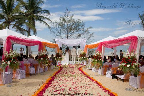 Venue Wedding Canopy Mandap Stage Decoration